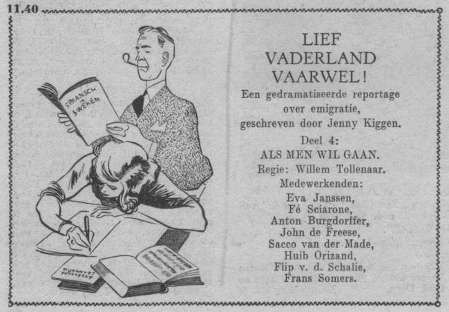 Vierde deel, datum uitzending: zondag 17-06-1951.