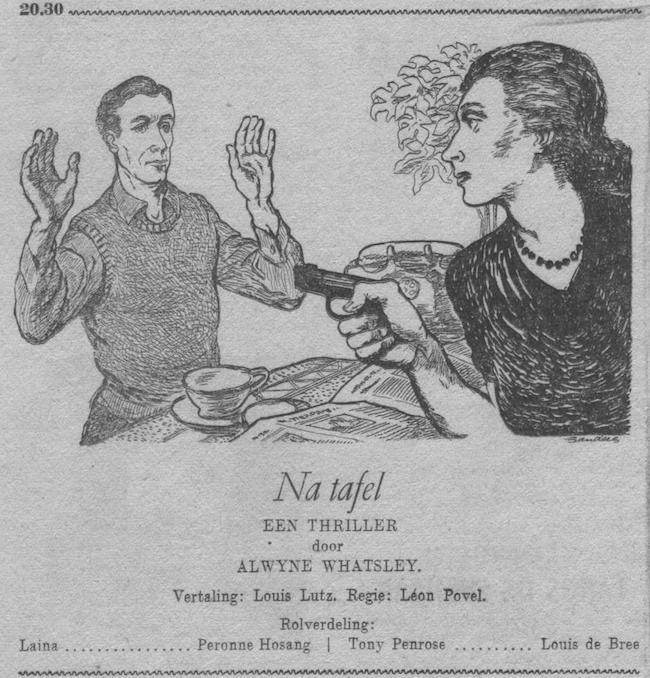 Datum uitzending: zondag 21-10-1951.
