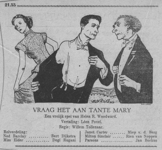 Datum uitzending: zondag 27-05-1951.