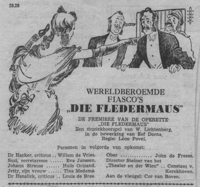 Datum uitzending: zondag 23-11-1952.