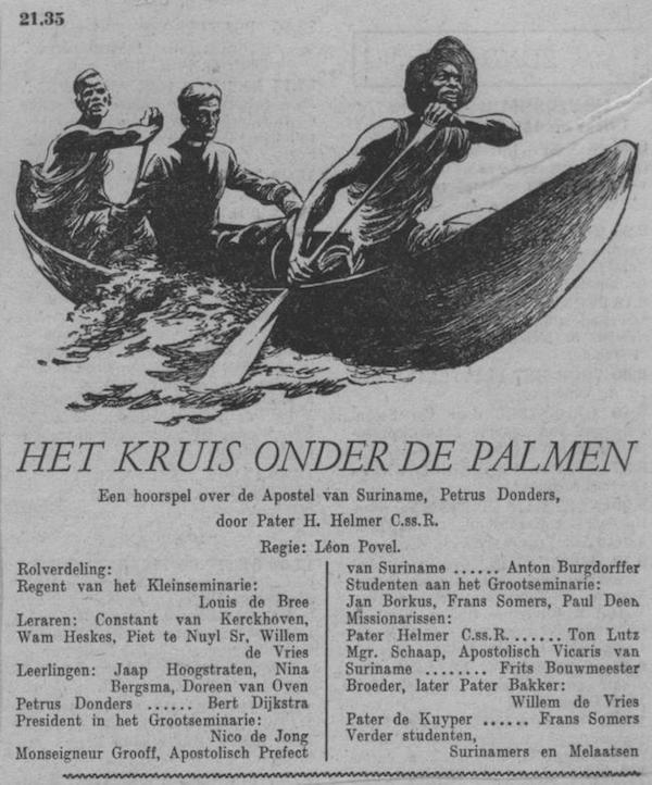 Datum uitzending: zondag 25-05-1952.