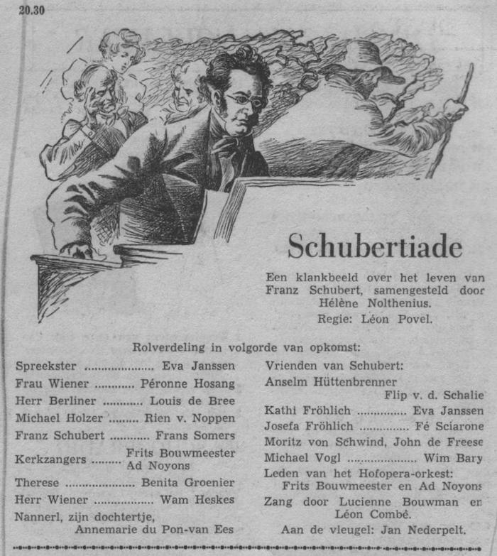 Datum uitzending: dinsdag 18-11-1952.