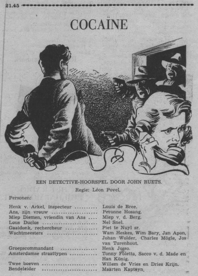 Datum uitzending: zondag 13-09-1953.
