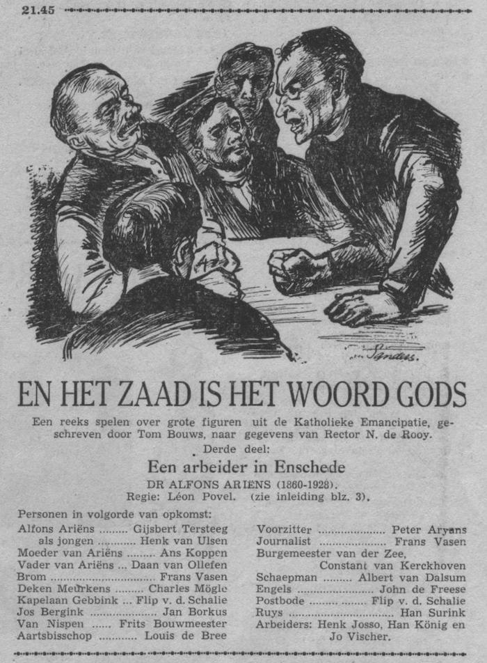 Datum uitzending: deel 3 zondag 08-03-1953.