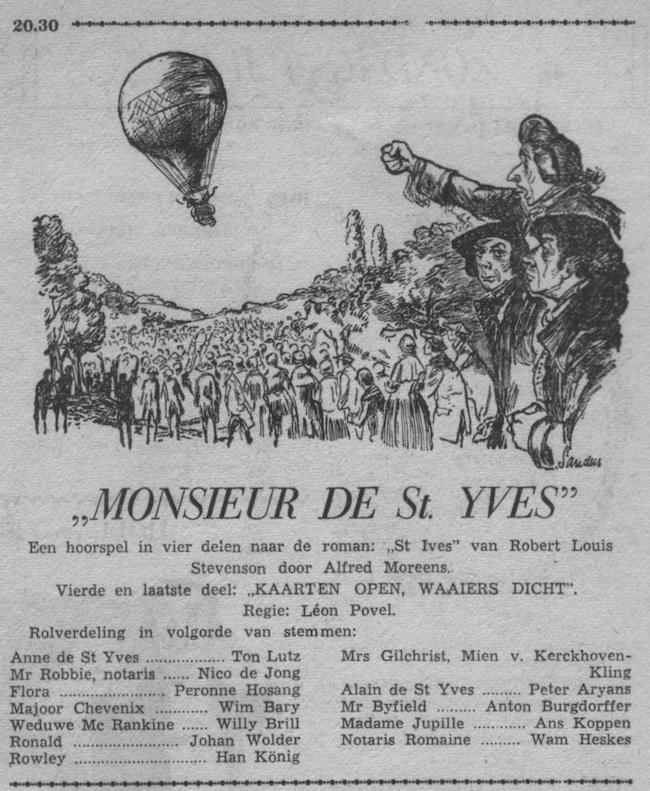 Datum uitzending: deel 4 Zondag 05-07-1953.