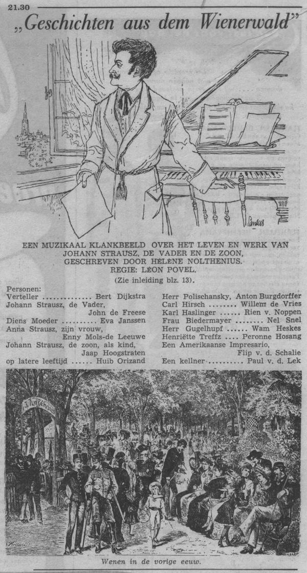 Datum uitzending: zondag 12-09-1954.