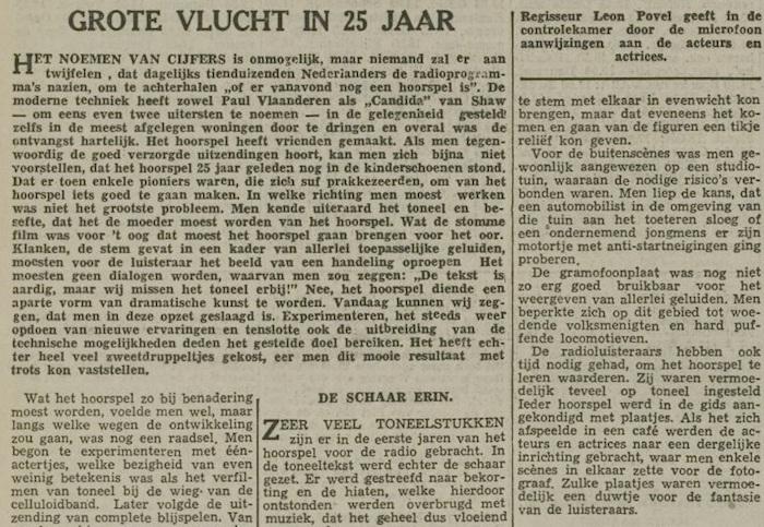 Een artikel van 06-11-1954. 3 van 7.