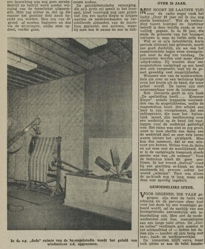 Een artikel van 06-11-1954. 4 van 7.