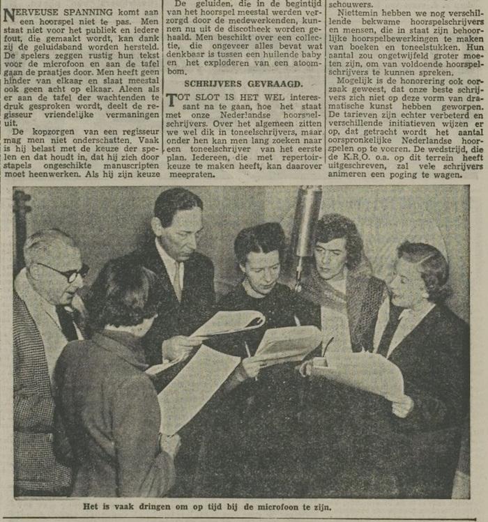 Een artikel van 06-11-1954. 7 van 7.