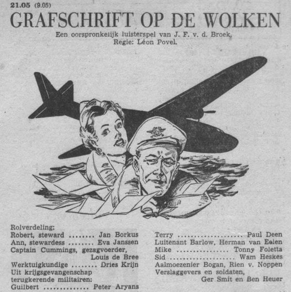 Datum uitzending: zondag 27-11-1955.