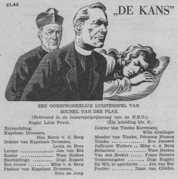 Datum uitzending: zondag 17-04-1955.