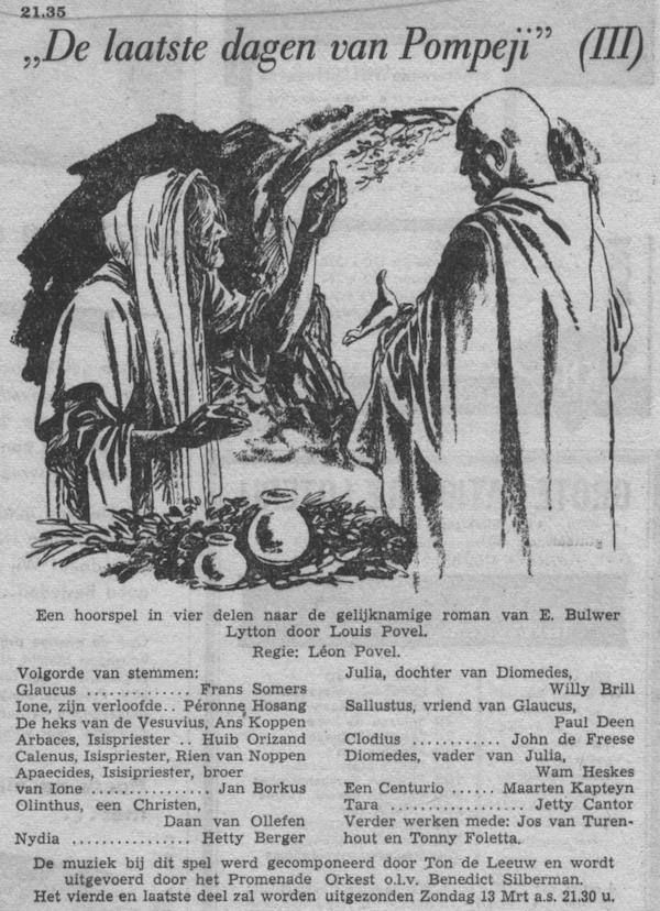 Datum uitzending: deel 3 zondag 06-03-1955.