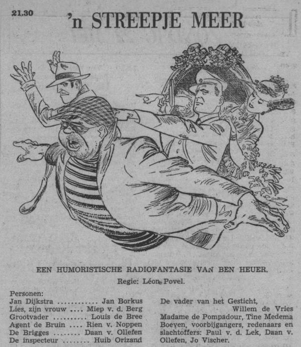 Datum uitzending: zondag 22-05-1955.