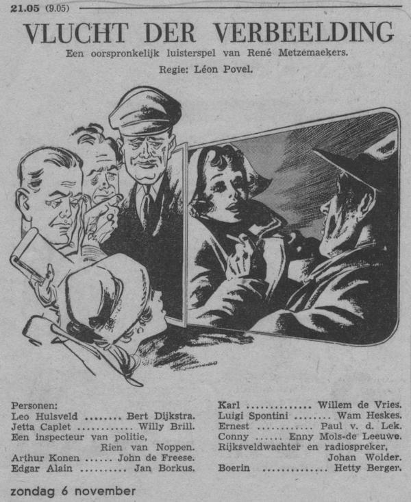 Datum uitzending: zondag 06-11-1955.