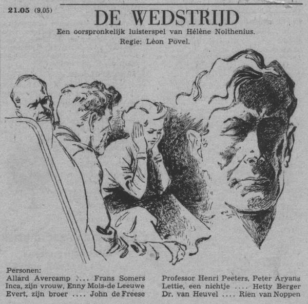 Datum uitzending: zondag 16-10-1955.