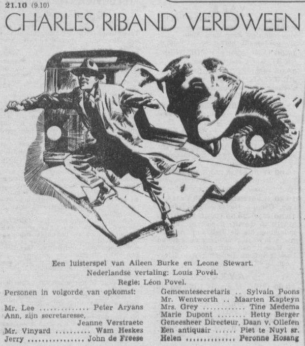 Datum uitzending: zondag 27-05-1956.