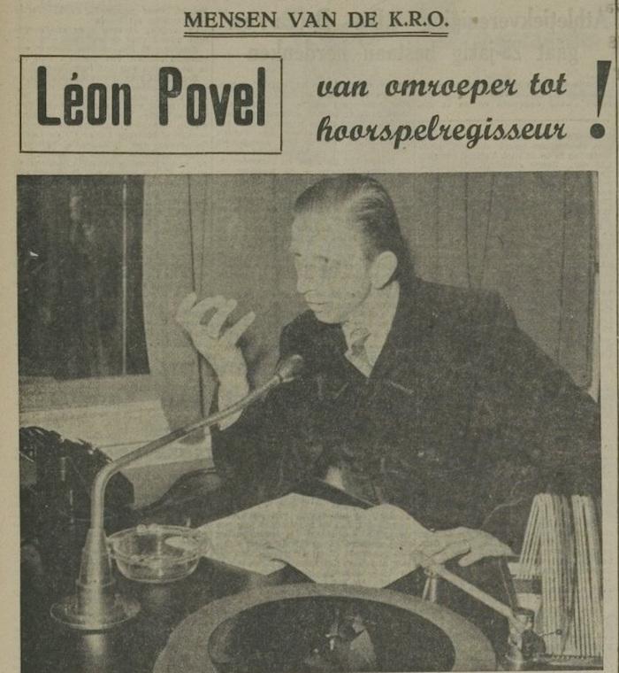 Een artikel van 18-05-1956. 1 van 3.