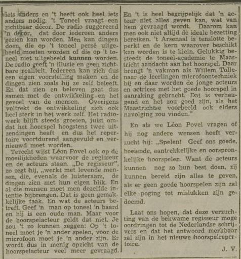 Een artikel van 18-05-1956. 3 van 3.