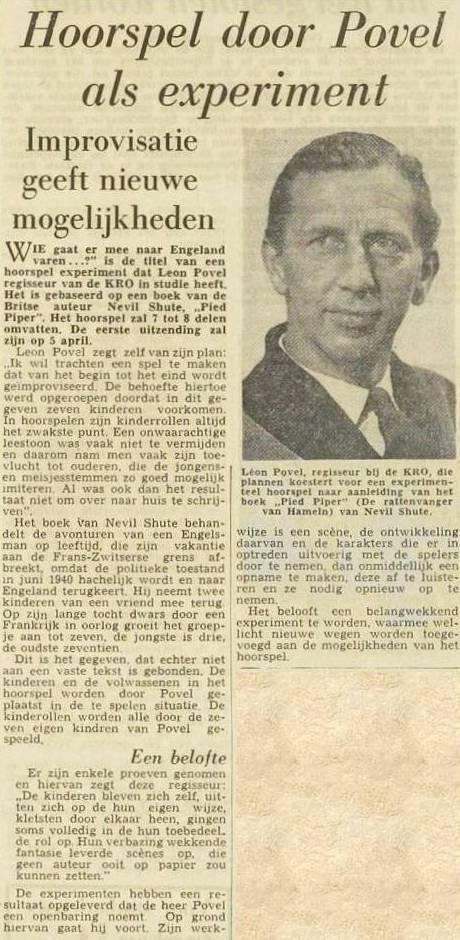 Uit de krant van 22-01-1959.