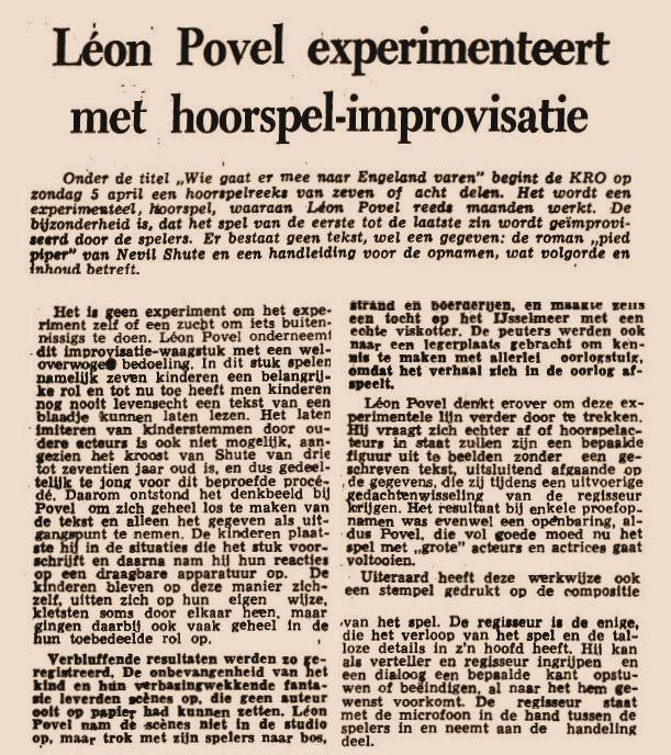Uit de krant van 23-01-1959.