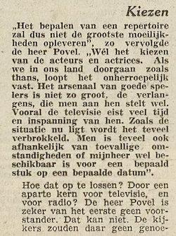 Uit de krant van 20-02-1960.
