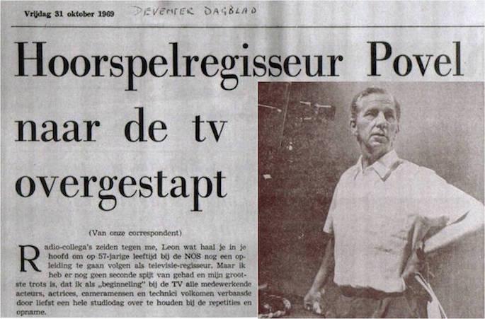 Uit het Deventerdagblad van 31-10-1969.