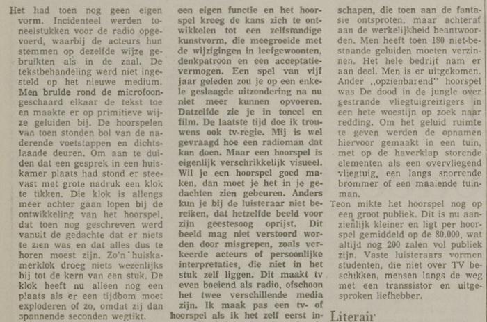 Uit de krant van 12-05-1972.