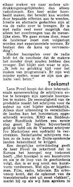 Uit de krant van 25-05-1972.