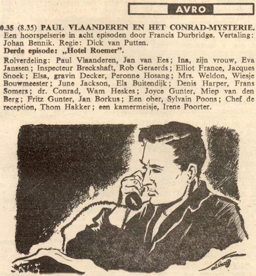 Deel 3. Paul Vlaanderen en het Conrad mysterie.