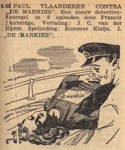 Deel 1. Paul Vlaanderen contra de Markies.