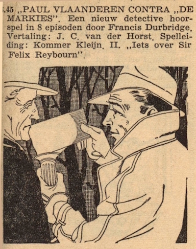 Deel 2. Paul Vlaanderen contra de Markies.