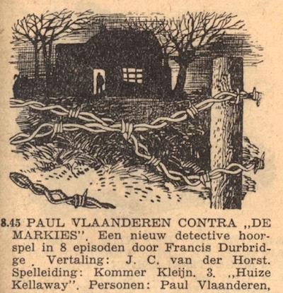 Deel 3. Paul Vlaanderen contra de Markies.