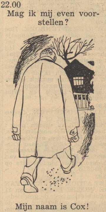 Deel 2. Mag ik mij even voorstellen? Mijn naam is Cox! (1953).
