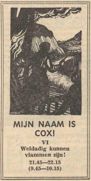Deel 6. Mag ik mij even voorstellen? Mijn naam is Cox! (1956).