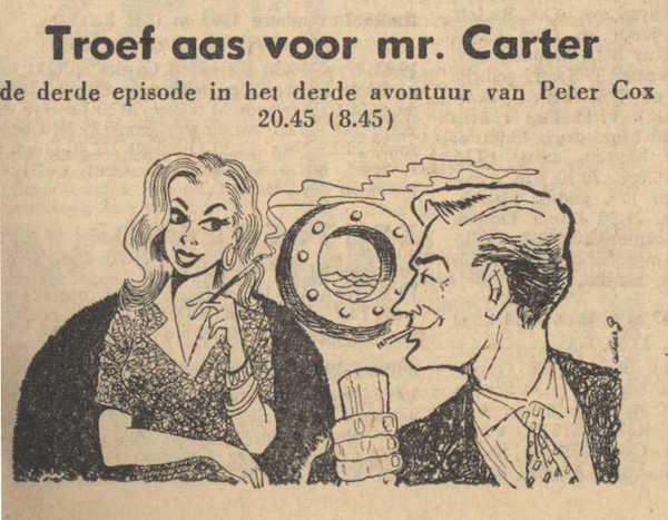 Deel 3. Mag ik mij even voorstellen? Mijn naam is Cox! (1959).
