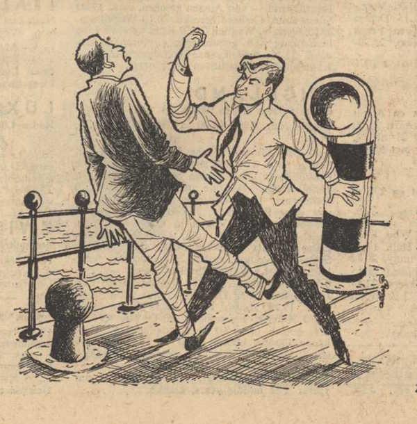 Deel 4 de illustratie. Mag ik mij even voorstellen? Mijn naam is Cox! (1959).