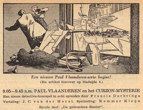 Deel 1. Paul Vlaanderen en het Curzon mysterie.