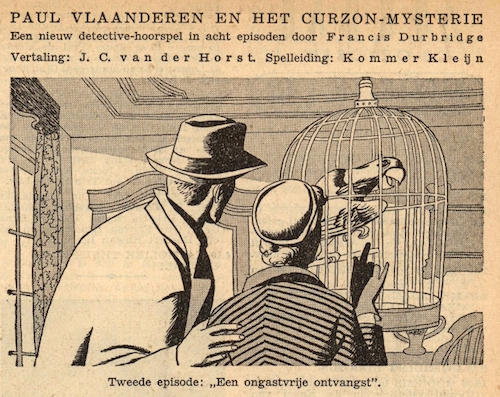Deel 2. Paul Vlaanderen en het Curzon mysterie.