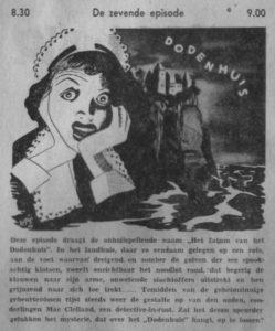 Uit de radiogids van woensdag 24 juli 1940.