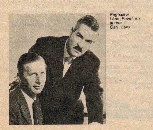 Léon Povel en Carl Lans.