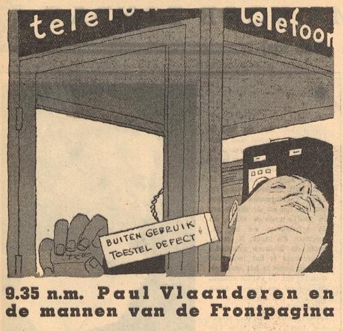 Deel 1. Paul Vlaanderen en de mannen van de frontpagina.
