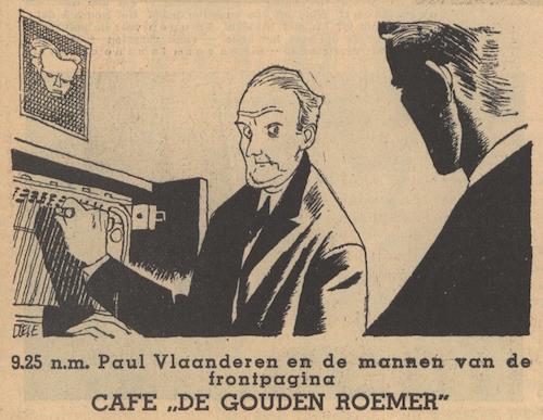 Deel 2. Paul Vlaanderen en de mannen van de frontpagina.