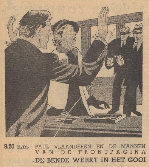 Deel 3. Paul Vlaanderen en de mannen van de frontpagina.