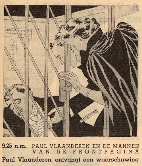 Deel 4. Paul Vlaanderen en de mannen van de frontpagina.