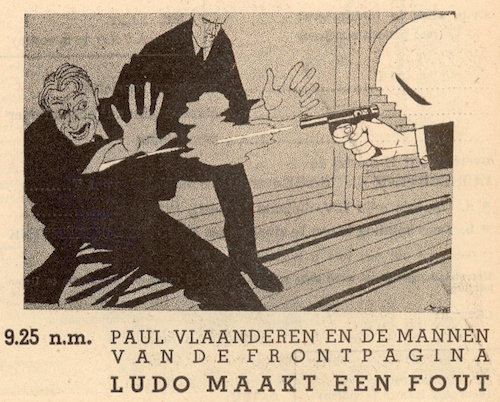 Deel 5. Paul Vlaanderen en de mannen van de frontpagina.