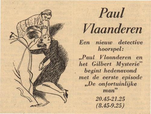 Deel 1. Paul Vlaanderen en het Gilbert mysterie.