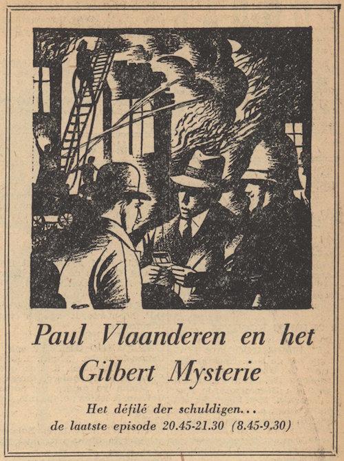 Deel 8. Paul Vlaanderen en het Gilbert mysterie.