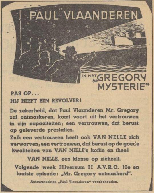 Deel 9. De Paul Vlaanderen Van Nelle prijsvraag.