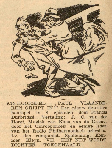 Deel 1. Paul Vlaanderen grijpt in.