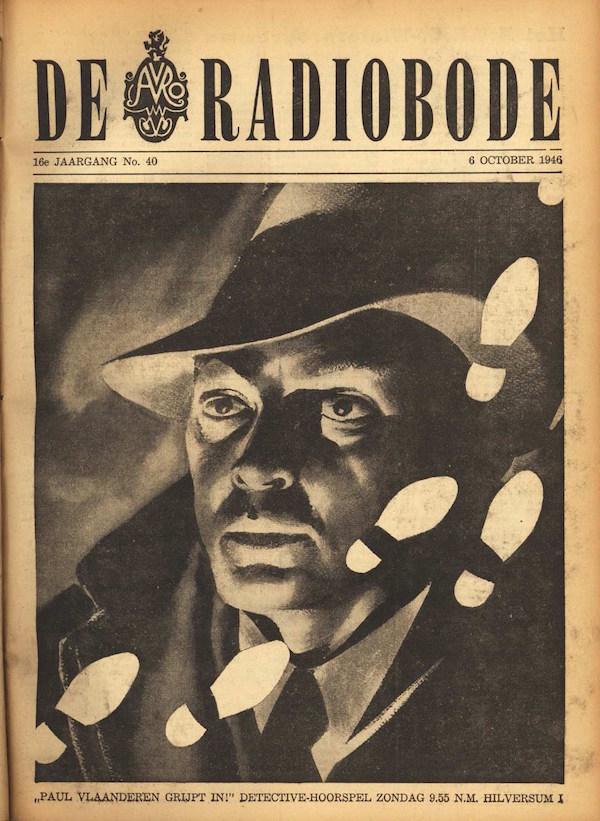 Cover radiogids. Paul Vlaanderen grijpt in.